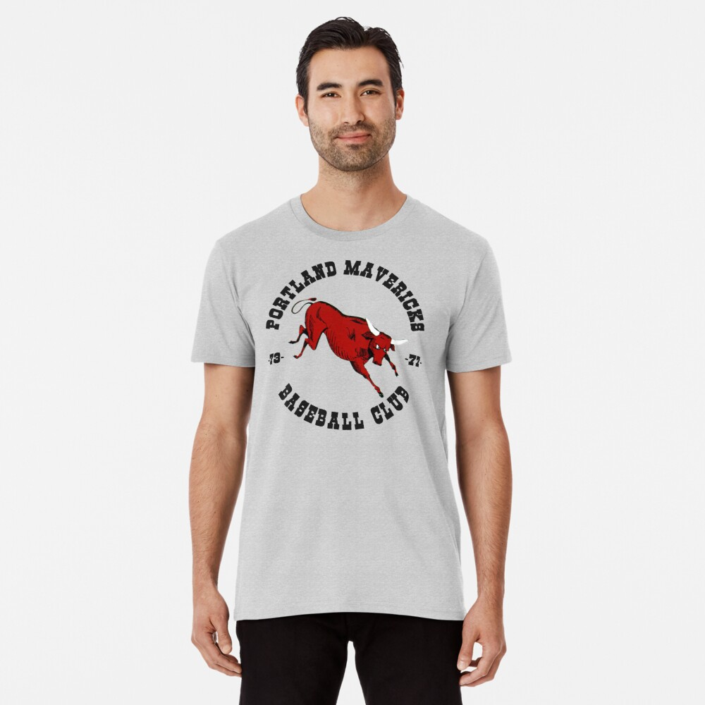 Portland Mavericks Baseball-Verein-Hemd 70s Retro Vintage TBT Premium T-Shirt