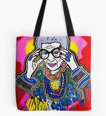 The Iris Apfel Merchandise Collection by Dusty O Tote Bag