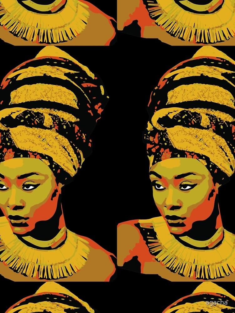 African beauty by agacha