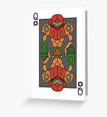 Metroid Queen Greeting Card