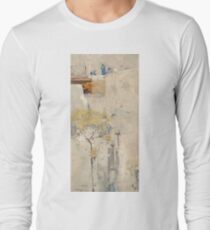 House builders, Cairo by Arthur Streeton Long Sleeve T-Shirt