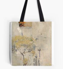 House builders, Cairo by Arthur Streeton Tote Bag
