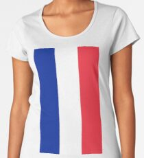 France Flag Women's Premium T-Shirt