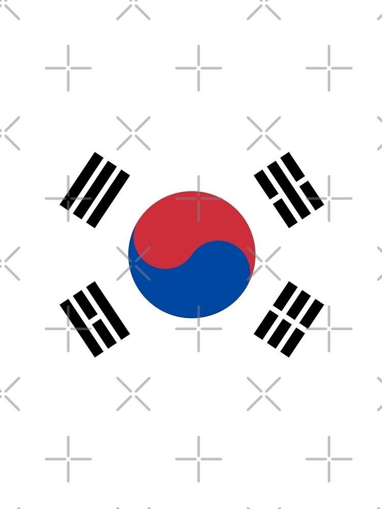 South Korea Flag by stoopiditees