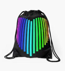 Techno Love Drawstring Bag