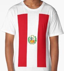 Peru Flag Long T-Shirt