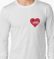 Love, Simon Heart Long Sleeve T-Shirt