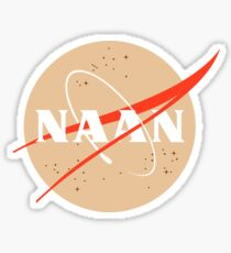 NAAN - Funny Desi Shirts And Gifts Sticker