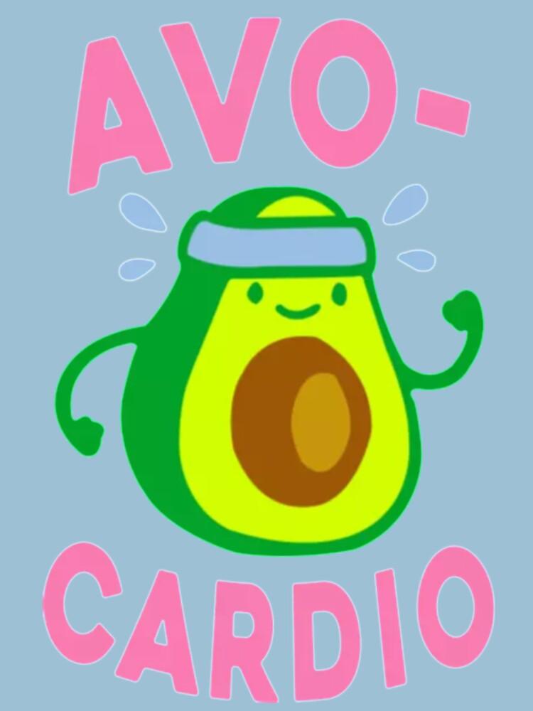 Laufende Avocado-Avocado von KingJames27x