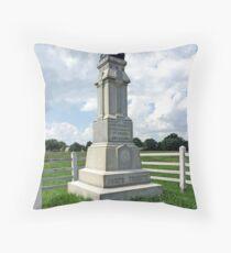 Gettysburg, Ohio 8th Monument Throw Pillow