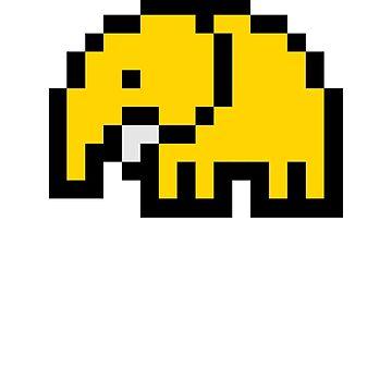 Pixelephant 2.0 by Slonie
