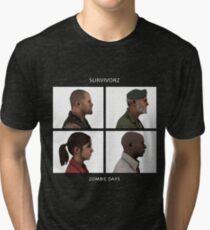 Left 4 Dead: Zombie Days Tri-blend T-Shirt