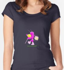 Sugar Bug 2 no logo  Women's Fitted Scoop T-Shirt