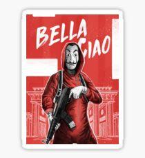 La Casa de Papel / Money Heist - Bella Ciao - Dali Mask Sticker