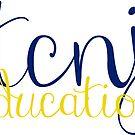 TCNJ Education Sticker  by Sam Palahnuk