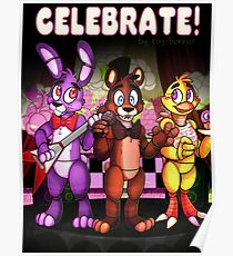 Five Nights At Freddy's - Celebrate! Poster