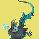 Lizard on the run by SayUncle