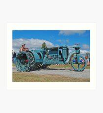 Sieve-Grip Tractor Art Print