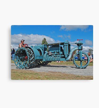 Sieve-Grip Tractor Canvas Print