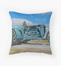 Sieve-Grip Tractor Throw Pillow