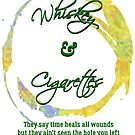 Whiskey & Cigarettes - Multi-Color by Rocky Lott Band
