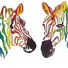 Zebra stripe by Miles Design Art