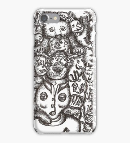 Escapees from the mind iPhone Case/Skin