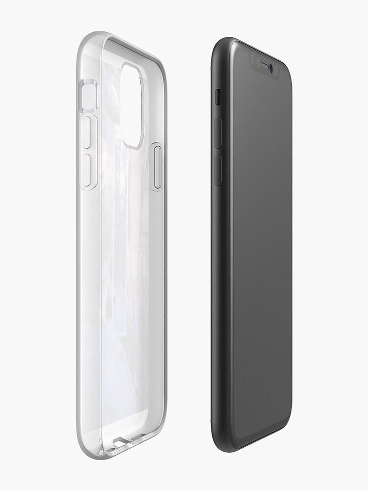 """kostenlose apps für iphon , """"Mann, der sich reflektiert"""" iPhone-Hülle & Cover von extinctartist"""