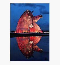 The Kelpies Photographic Print