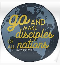 Matthew 28:19 Poster