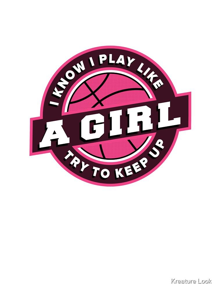 Play Like a Girl basketball | basketball shirt | basketball coach gift |  basketball team gift | sports quote | basketball quotes | basketball player  | ...