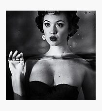 Not drowning, waving Photographic Print