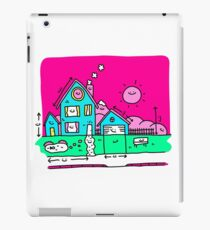 Happy Home Blueprints iPad Case/Skin