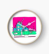 Happy Home Blueprints Clock