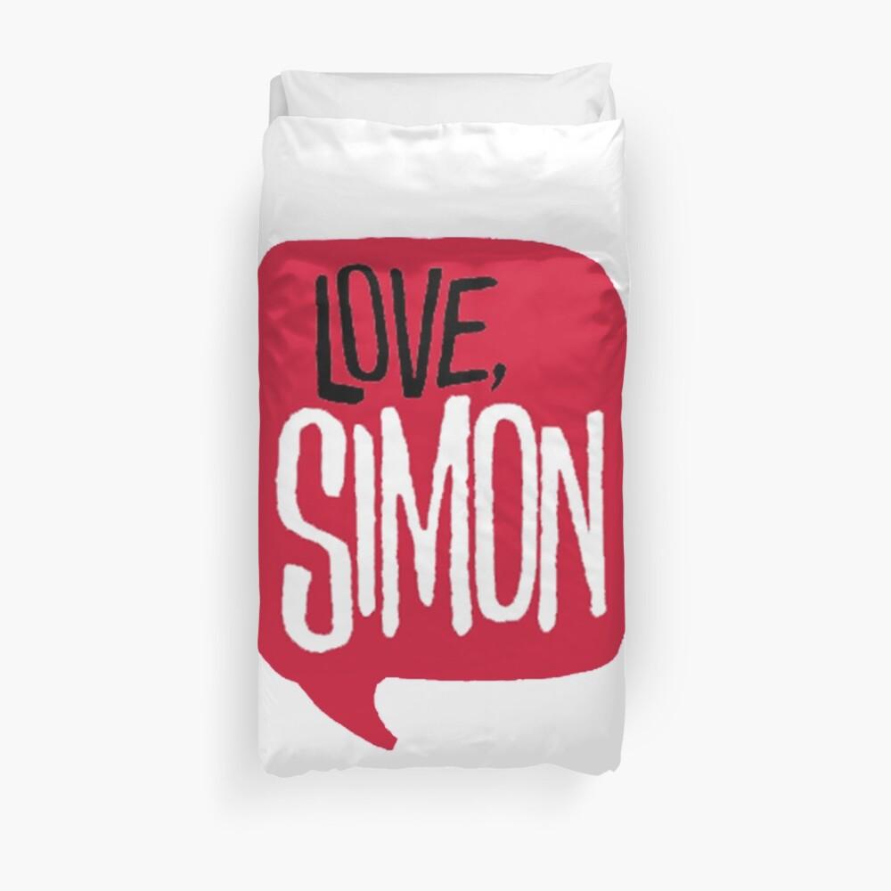 love, simon Duvet Cover