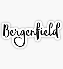 Bergenfield Sticker