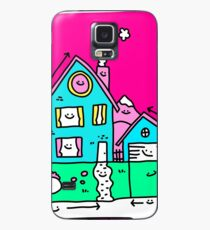 Happy Home Blueprints Case/Skin for Samsung Galaxy