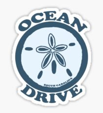 Ocean Drive - South Carolina.  Sticker