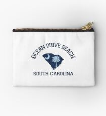 Ocean Drive - South Carolina.  Studio Pouch