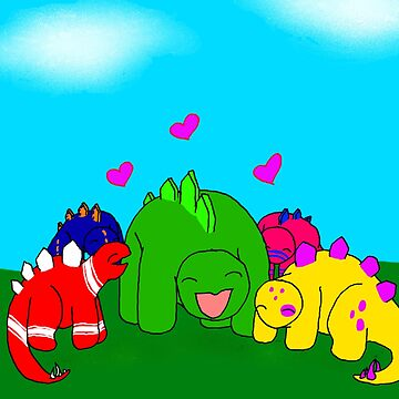 Steve's Herd - Steve the Stegosaurus by christopherda