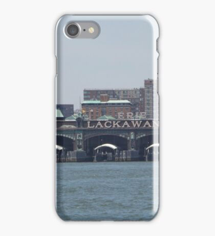 Classic Erie Lackawanna Ferry and Train Terminal, Hoboken, New Jersey iPhone Case/Skin