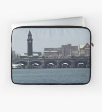 Classic Erie Lackawanna Ferry and Train Terminal, Hoboken, New Jersey Laptop Sleeve