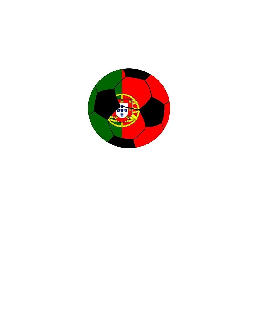Portugal Portuguese Soccer Team Russia 2018 Football By Edinson753