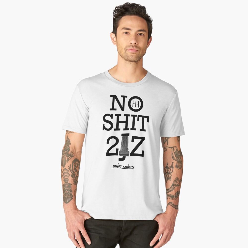 Shift Shirts 10 Second Car - 2JZGTE Men's Premium T-Shirt Front
