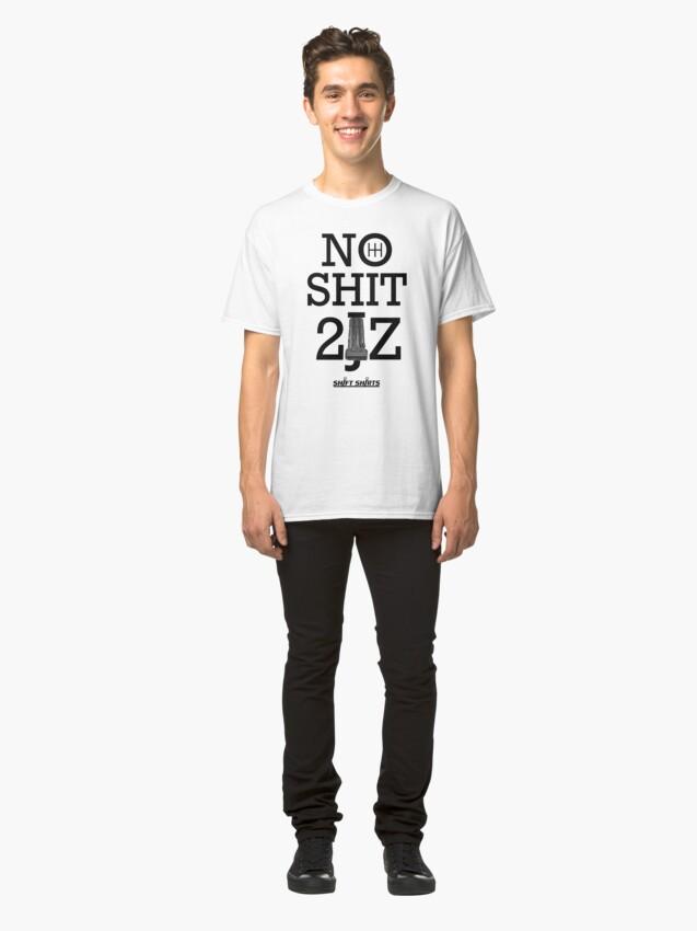 Alternate view of Shift Shirts 10 Second Car - 2JZGTE Classic T-Shirt