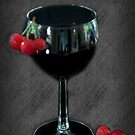 Cherry Smoothie by Sherry Hallemeier