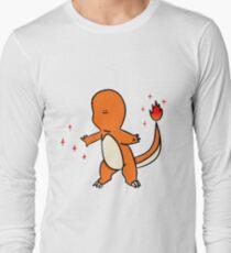 Tiny faced Charmander Long Sleeve T-Shirt
