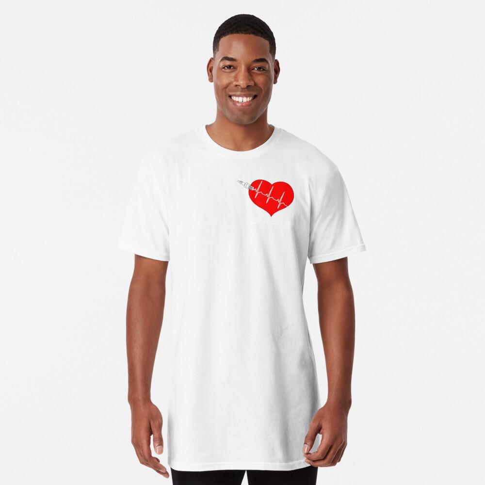 Shift Shirts Spark My Heart - Automotive Love Long T-Shirt
