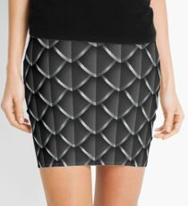 Dragon Scales: Black Mini Skirt
