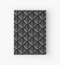 Dragon Scales: Black Hardcover Journal